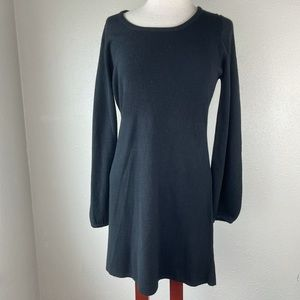 NWT Allison Brittney Long Black Sweater Size M